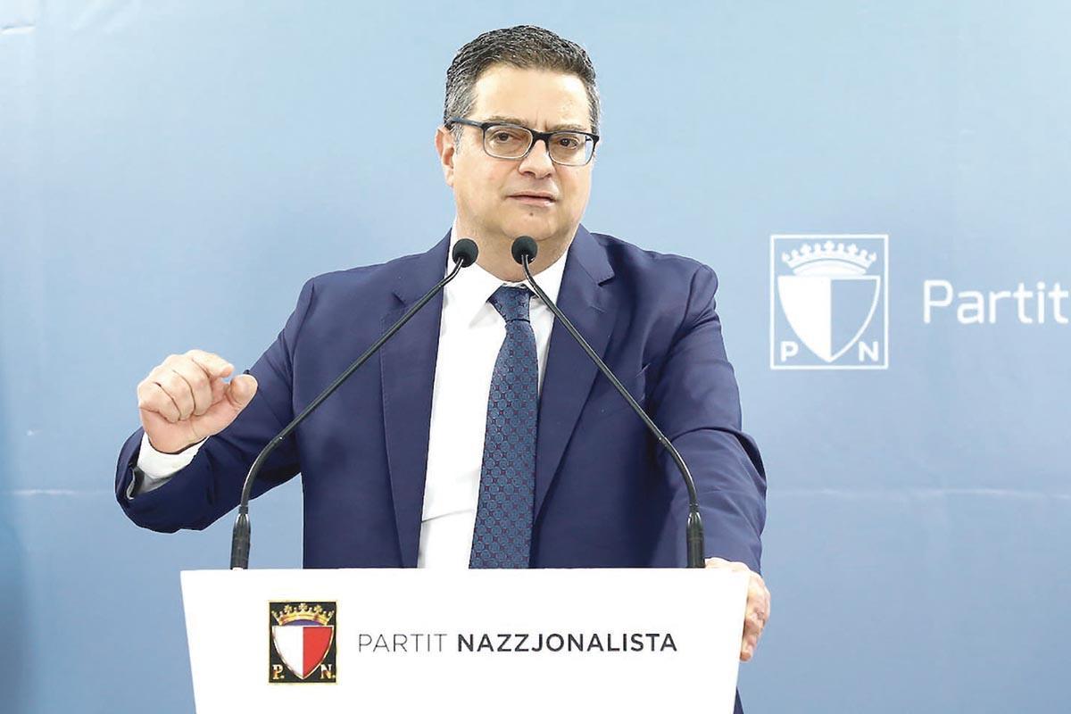 PN leader Adrian Delia