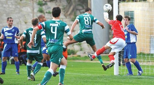 Floriana 'had other matters in mind' on Sunday as they lost 3-1 to Tarxien Rainbows.