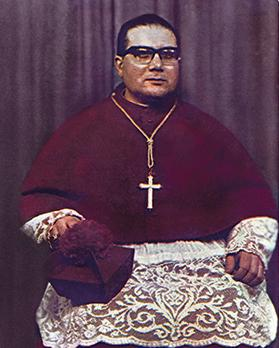 An official photo of Bishop Nikol Cauchi, the new Apostolic Administrator of Gozo, who had just served as the third editor, graced the cover of the April 1967 issue.