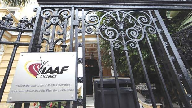 The IAAF says it has followed correct procedures in doping issues.