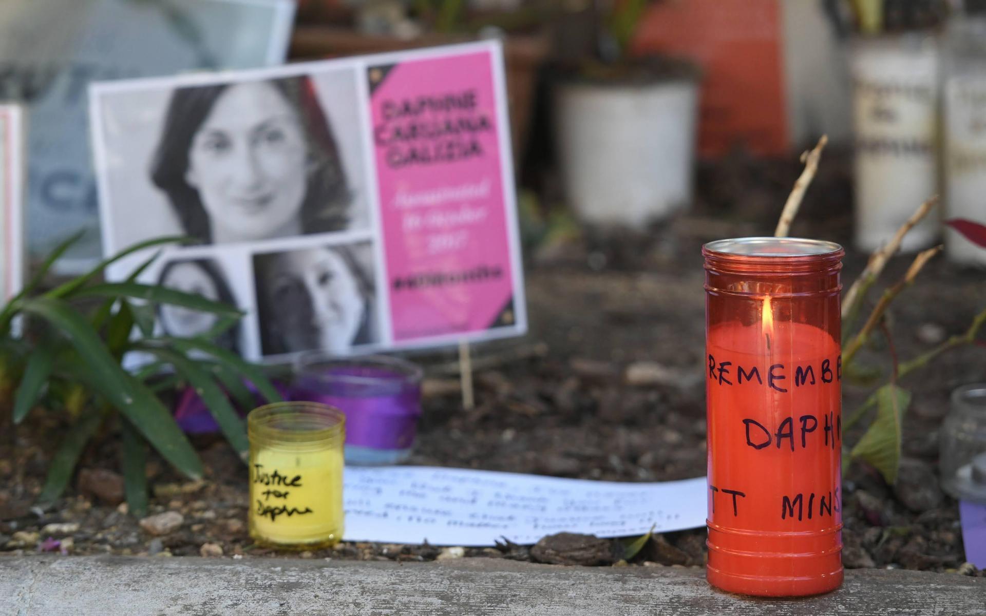 Daphne Caruana Galizia was killed in a car bomb in October 2017. File photo, Matthew Mirabelli