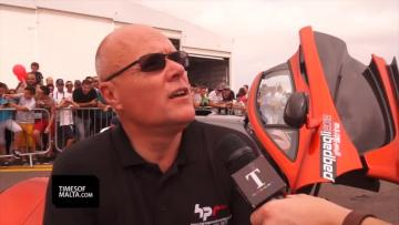 Car crash: Driver's pride in having brought supercars to Malta for free, to support charity