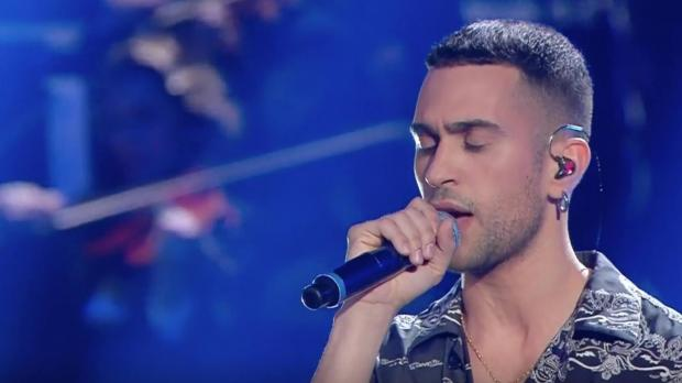 Mahmood during the Sanremo Music Festival. Photo: Sanremo/Facebook.
