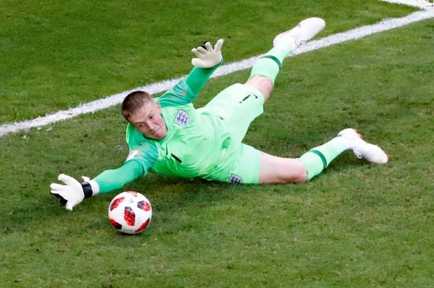 Jordan Pickford was decisive in England's win over Sweden.