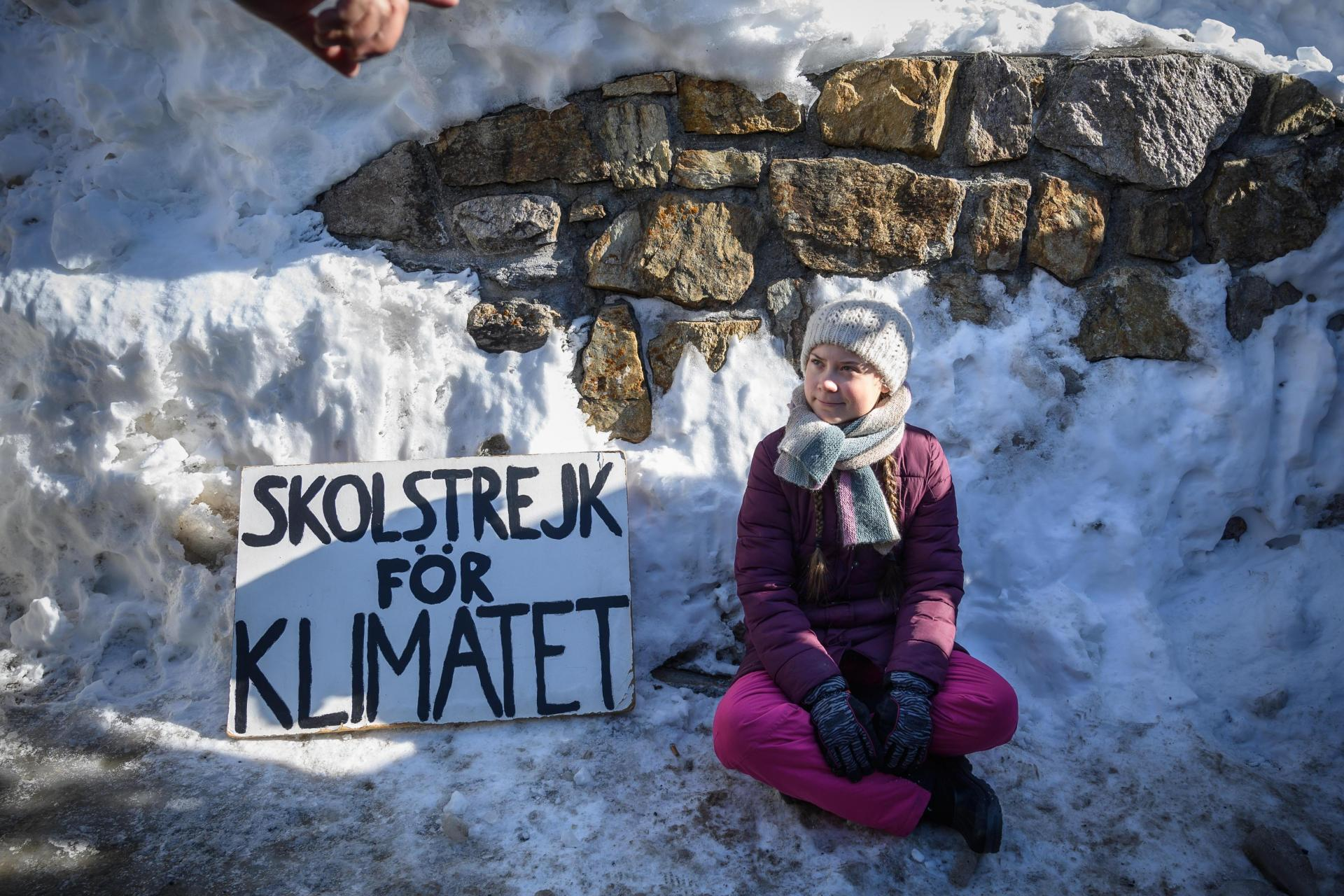 Activist Greta Thunberg. Photo: AFP