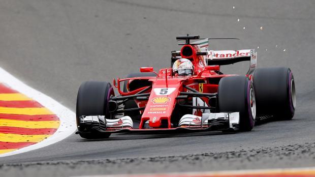 Sebastian Vettel will drive a Ferrari for the next three seasons.