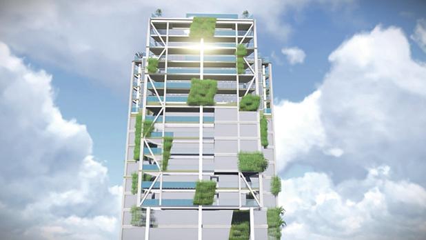 VDHG 14 East tower building