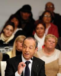 Prime Minister Lawrence Gonzi yesterday attended a PN event in Iklin. Photo: Darrin Zammit Lupi