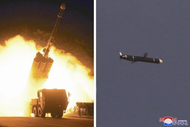 North Korea test-fires new long-range cruise missile