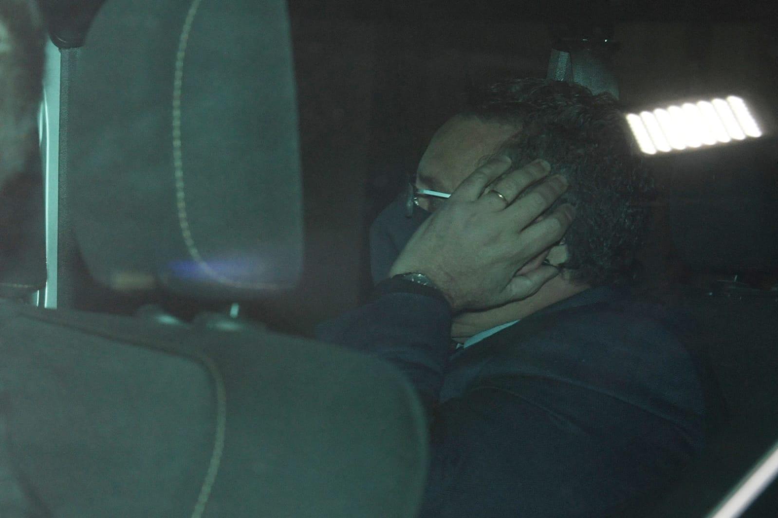 Schembri's business partner Malcolm Scerri following his arraignment on Saturday. Photo: Matthew Mirabelli