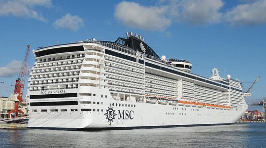 MSC Divina Set To Top Green Cruise Charts - Msc divina cruise ship