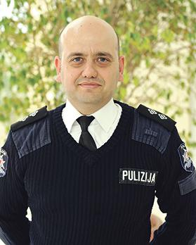Inspector TimothyZammit. Photo: Chris Sant Fournier