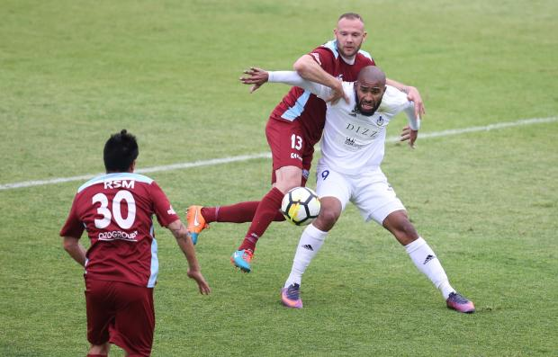 Gżira United sealed third place with a win over Sliema Wanderers. Photo: Christine Borg