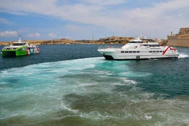 Fast ferry services suspended due to weather