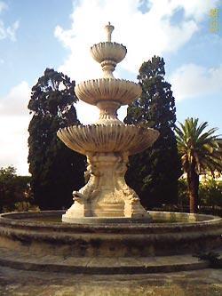The Wignacourt Fountain at Argotti Gardens, Floriana.