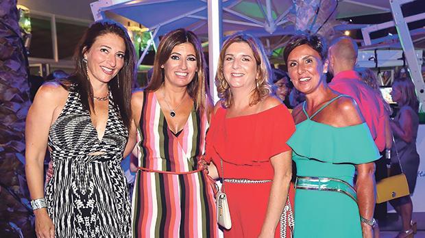 Sarah Jaccarini, Josette Falzon, Rachelle Spiteri and Elaine Pizzuto.