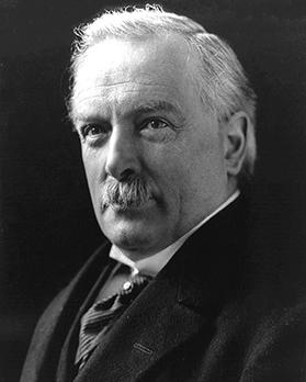 British Prime Minister David Lloyd George