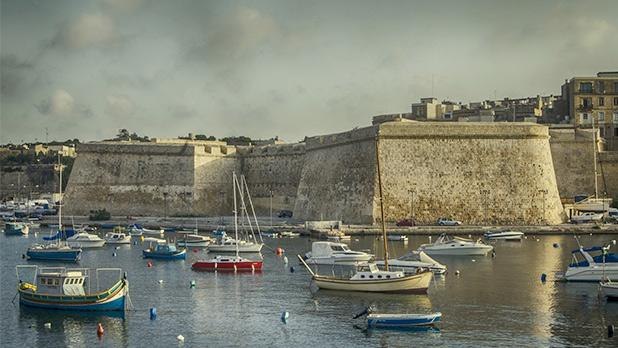 Vittoriosa bastions from Kalkara. Photo: Joseph Micallef