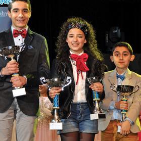 Malta's San Remo Junior contestants.