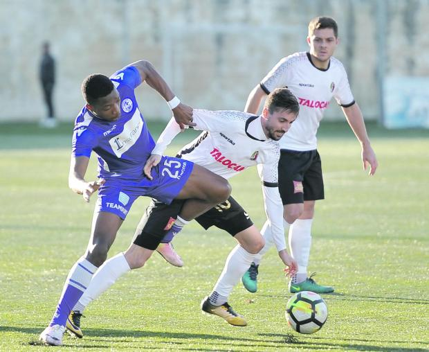 Ħamrun Spartans were held to a 1-1 draw by St Andrews. Photo: Chris Sant Fournier