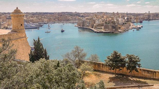 Birgu as seen from Valletta. Photo: Claudia Sciberras