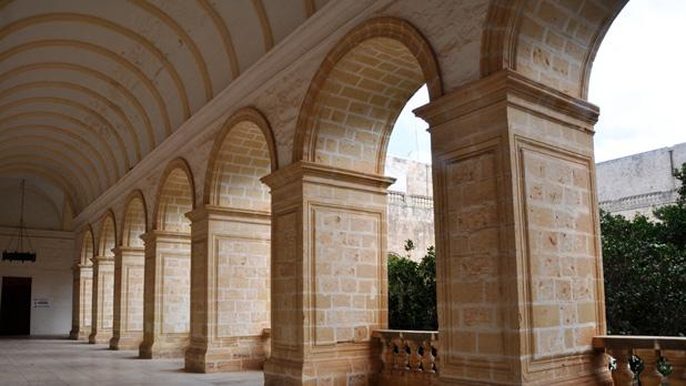 St. Dominic's cloister in Rabat. Photo: Victor B. Caruana
