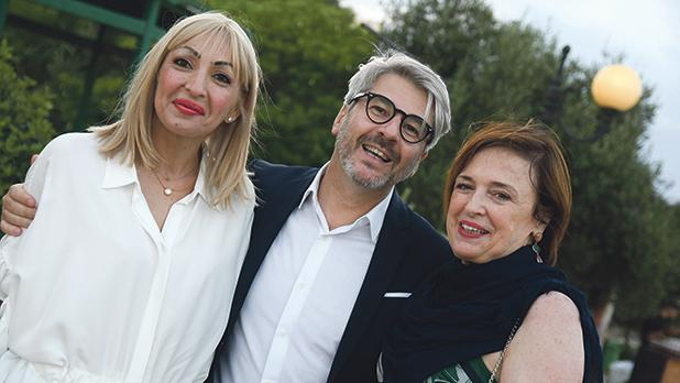 Marcette Fabri, Cyrille Jahin and Marthese Abela