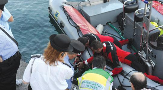 Investigators cannot explain why the experienced Scottish diver was alone at such depths in Ċirkewwa. Photo: Jason Borg