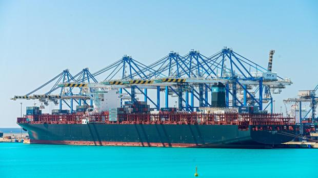 Malta Freeport Has Record Weekend Of Container Moves