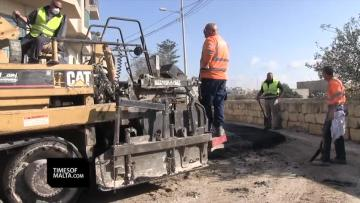 Watch: 290 roads to be completed by the end of the year | Video: Matthew Mirabelli