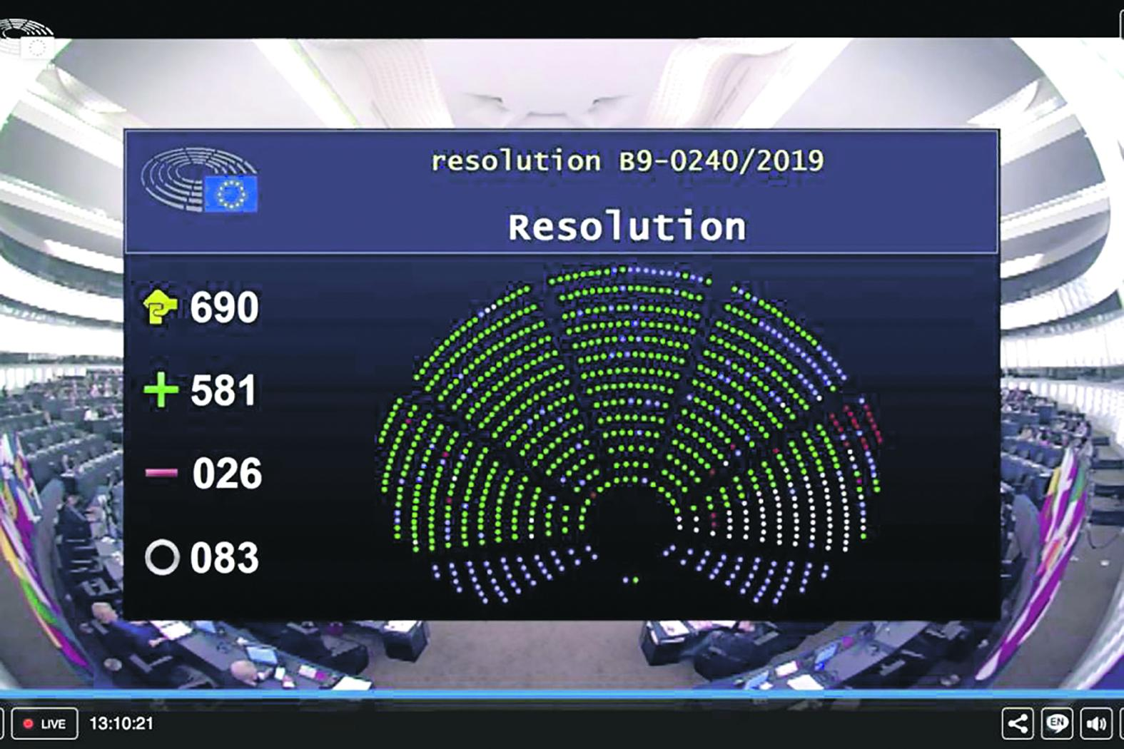 MEPs, including the socialists, call for Joseph Muscat to resign immediately on December 18, 2019.