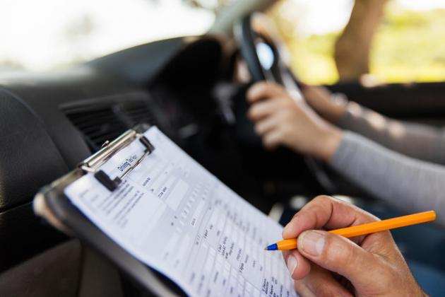 Driving lessons continue, but with COVID-19 mitigation measures in place