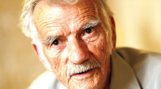 Allan Shaw is the last survivor who made it to Malta on the SS Ohio on August 15, 1942. Photo: Darrin Zammit Lupi.