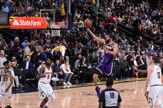 Watch: Red-hot Lakers beat Nuggets in overtime