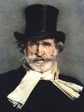 Portrait of Giuseppe Verdi by Giovanni Boldini.