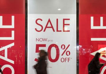 Cheaper clothes pushing inflation down, expensive food pulling it back up