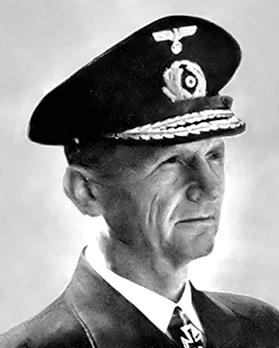 Karl Doenitz was to become commander of the German U-Boat forces during World War II.