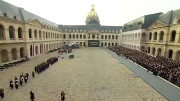 France holds Paris attack memorial