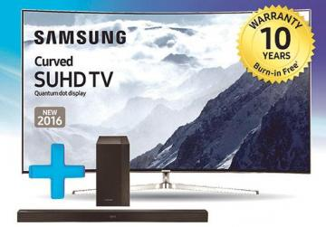 Burn Free Warranty And Free Sound Bar For Quantum Dot Tvs