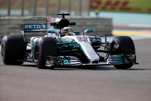 Lewis Hamilton was the fastest driver during the second practice session of the Abu Dhabi Grand Prix.