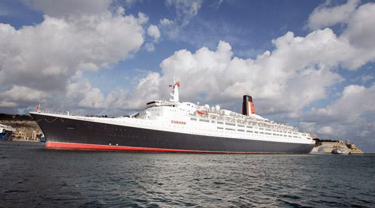 Last Great Ocean Liner Bids Farewell To Its Second Home