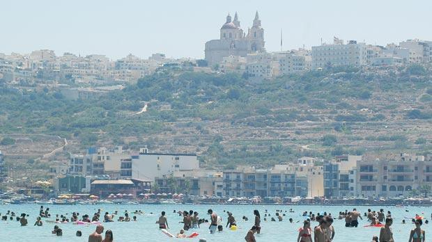 Outbreaks of jellyfish in Maltese waters, such as Għadira Bay, have become more frequent in the past few years.