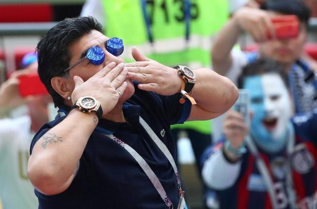 Diego Maradona wants to take charge of the Argentine national team again.