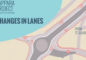 First Kappara slip roads open for traffic today