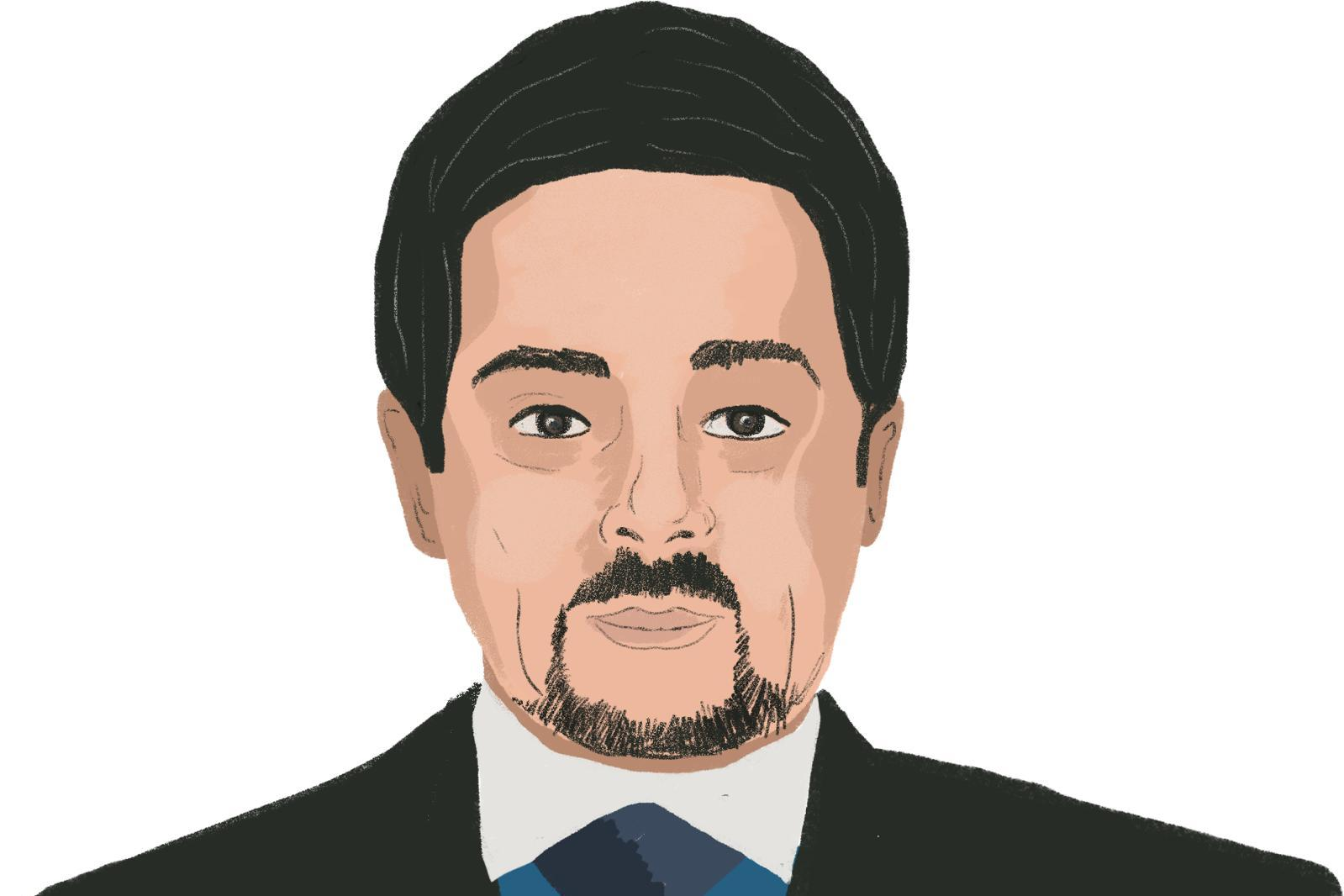 Yusuf Khalif was given a list of possible investment opportunities, and held meetings with senior members of government. Sketch: The Daphne Caruana Galizia Foundation