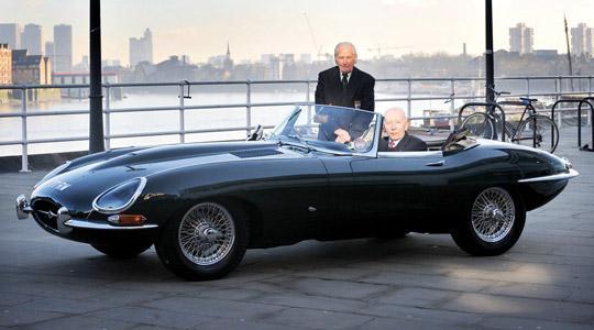 The Jaguar E-Type is 5...