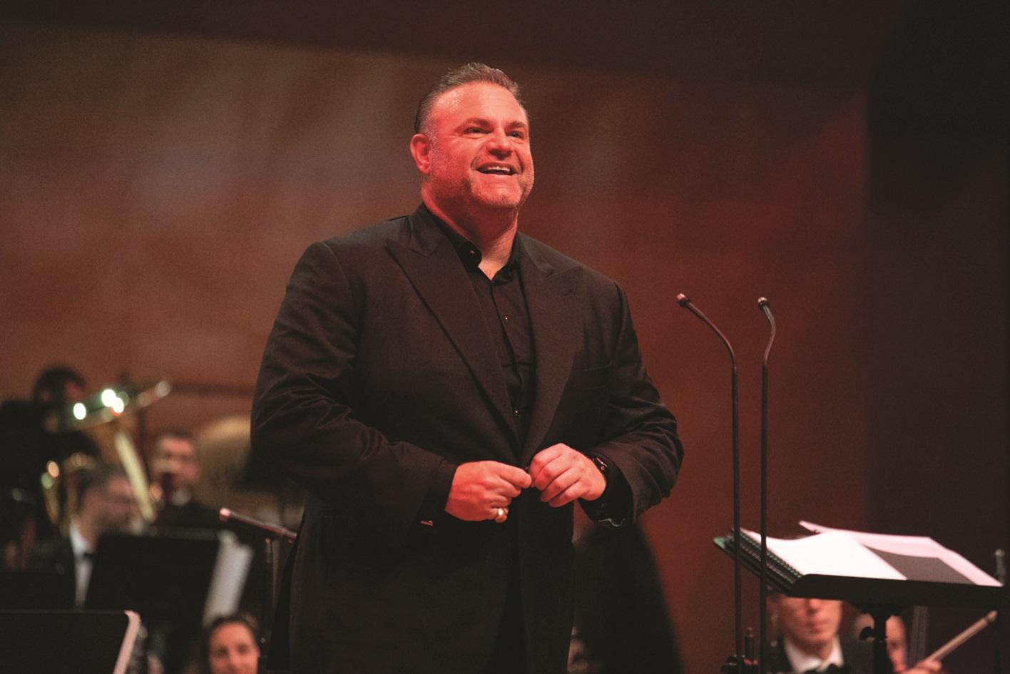 Tenor Joseph Calleja in concert. Photo: Evgeny Evtyukhov