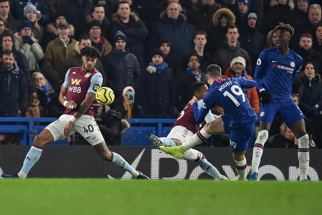 Mount, Abraham sink Villa as Chelsea return to form