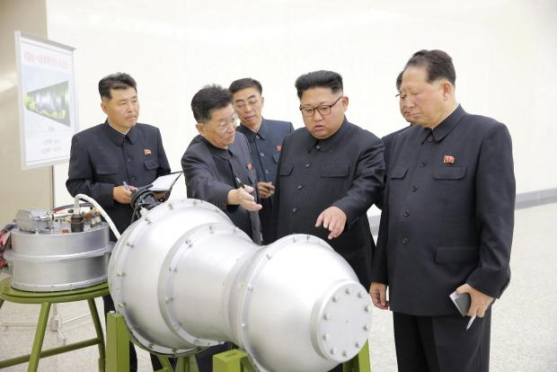 North Korea developed hydrogen bomb for new missiles, KCNA reports