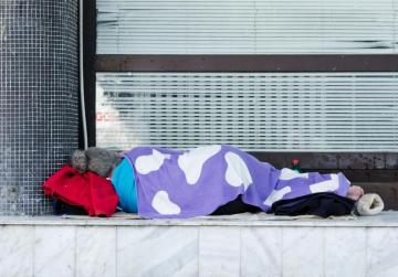 Britain pledges to end rough sleeping by 2027